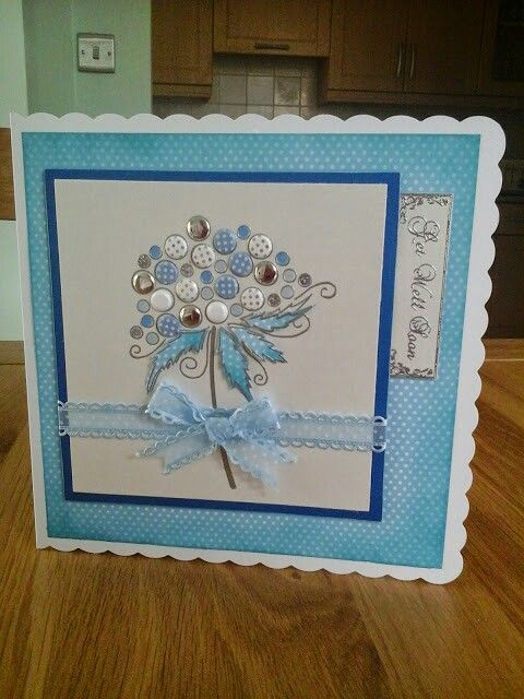 Woodware bubble bloom stamp & candi