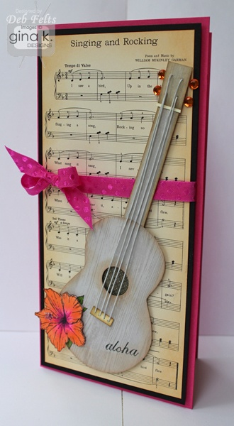 (sheet music of your love song, wedding color ribbons, and wedding photo)