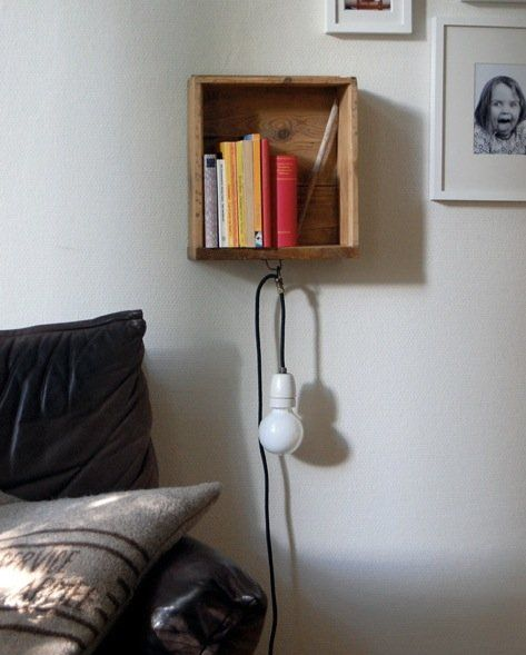 Small Bedroom Ideas: 5 DIY Wooden Shelves For Tiny Sleeping Spaces | Apartment Therapy