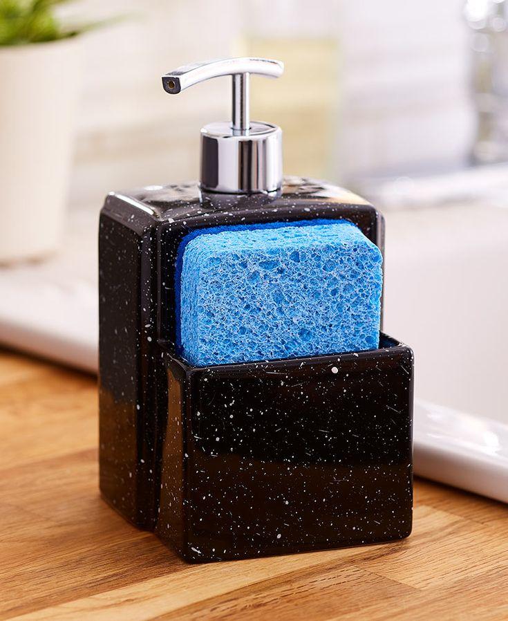 Soap Dispenser with Sponge Holder in 2020 Soap dispenser