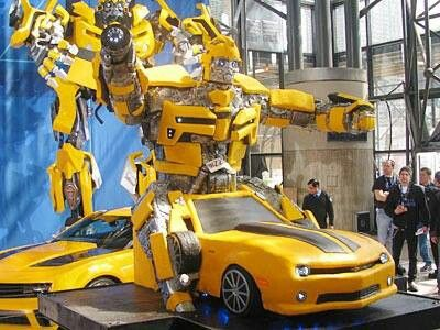 Transformers. Bumblebee cake from Cake Boss
