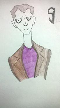 estilo Tim Burton o nono doutor