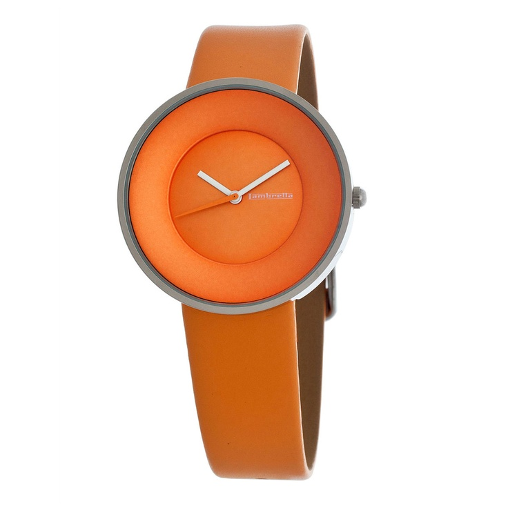 Simple and elegant. This orange #watch is named after the Italian word for heavenly, the Cielo is inspired by the 1960s and the heyday of the Lambretta scooter. With its sleek leather band and stainless steel case, this timepiece will add a chic aura to any ensemble it accessorizes.
