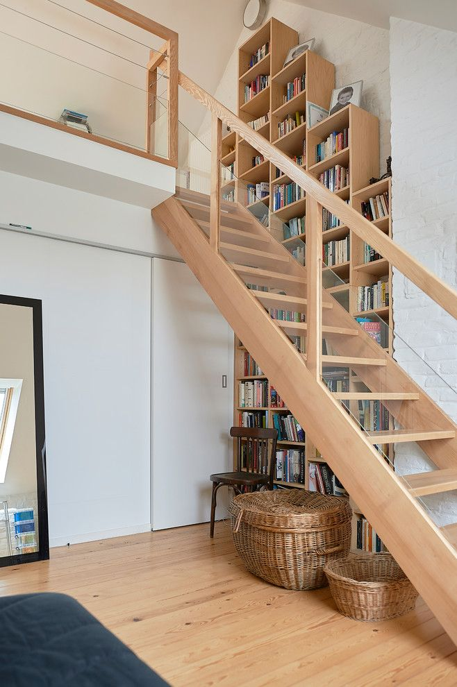 18 Delicate Scandinavian Staircase Designs You Will Fall For Staircase Design Modern Staircase Railing Stairs Design