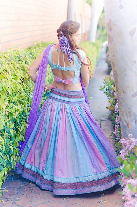 Custom Gopi Skirt Outfit – Wisteria