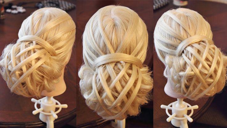 Свадебная причёска - Мастер-класс