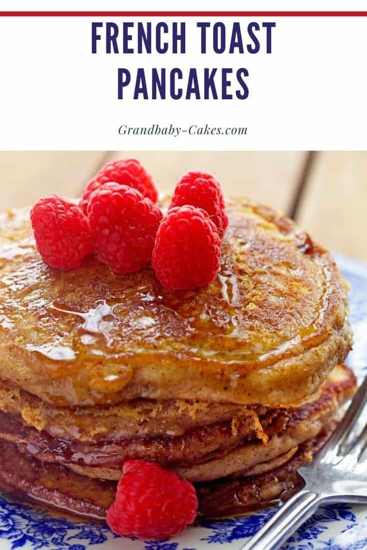This French Toast Pancakes Recipe Is Crazy Genius Fluffy Buttermilk Pancake In 2020 French Toast Pancakes French Toast Recipe Cinnamon French Toast Pancakes Recipe