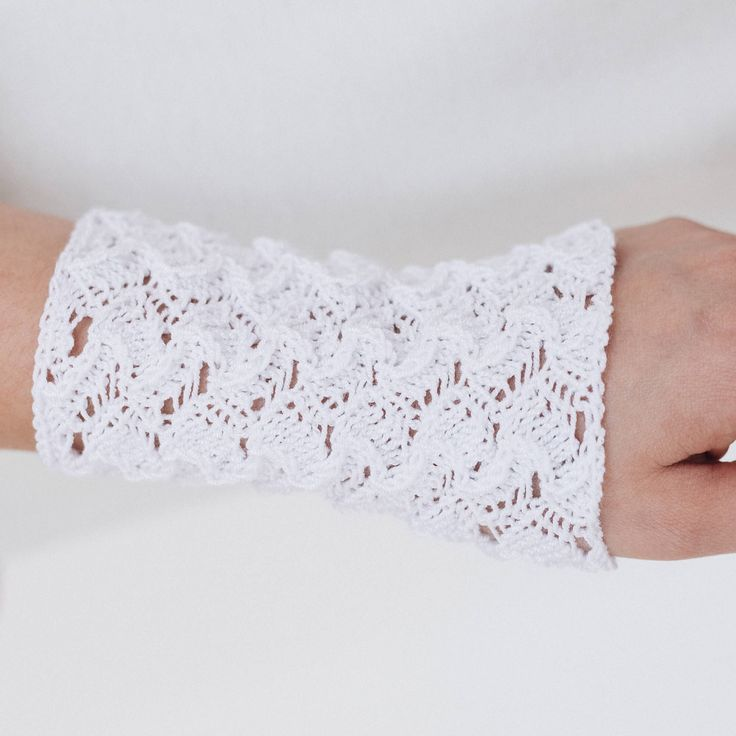 Excited to share the latest addition to my #etsy shop: Sweatbands tattoo cover up covers Bands cuffs Wrist cuff bracelets Yarn jewelry Long arm wristband band Cuff bracelets Birthday gifts to mom