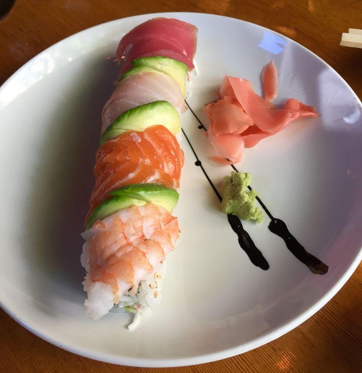 #sushi #pesce #rice #fish #avocado #portland #usa