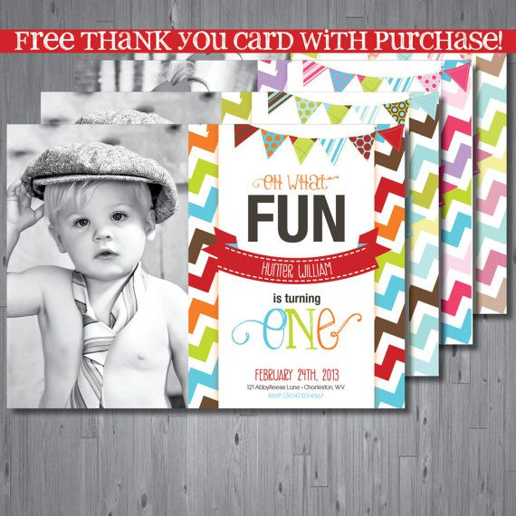 213 best 1st Birthday Invites images – The Big One Birthday Invitation
