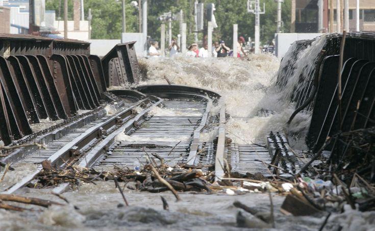 Наводнение в штате Айова, США