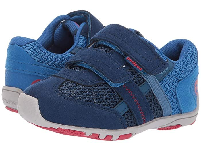 Pediped Gehrig Flex Toddler Little Kid Blue Navy Boys Shoes Add Some Retro Inspired Style To Your Little Guy S Wardro In 2020 Boys Shoes Boys Shoes Kids Blue Shoes