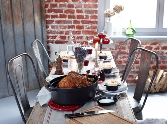 Deco table automne champetre
