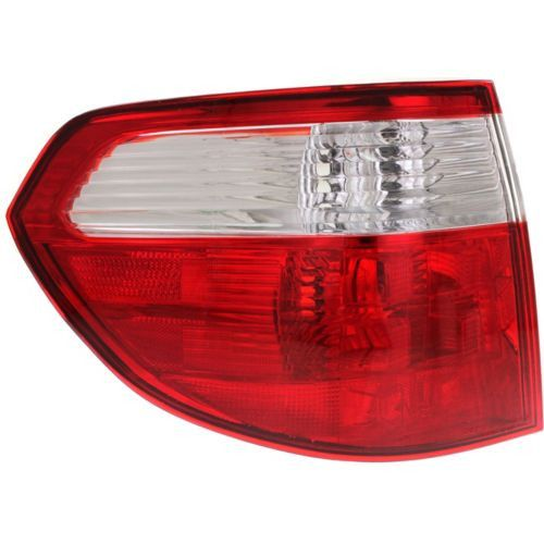 2005-2007 Honda Odyssey Tail Lamp LH, Outer, Lens And Housing - Capa