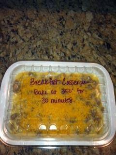 Too Goodin to be True: Freezer Meal- Breakfast Casserole