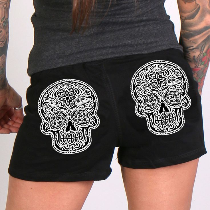 Hot Leathers Poco Loco Ladies Sweat Shorts -