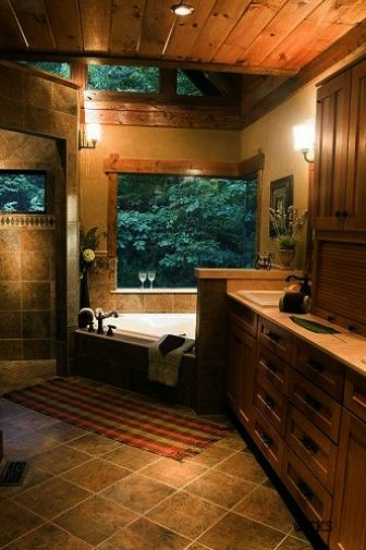 Rustic Bathroom Houzz Country Paint Ideas
