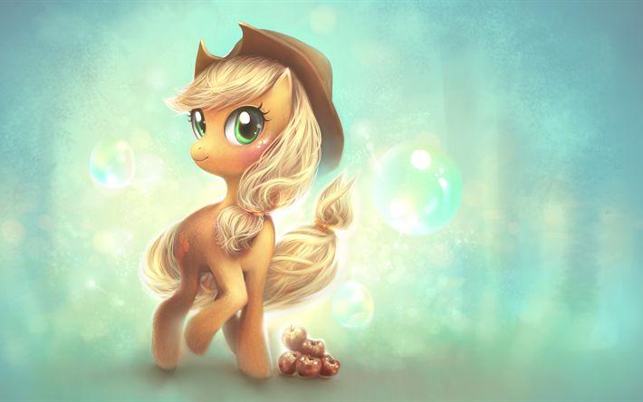 Descargar fondos de pantalla Mi Pequeño Pony, 4k, 2017 película, Calvados, 3d-animación