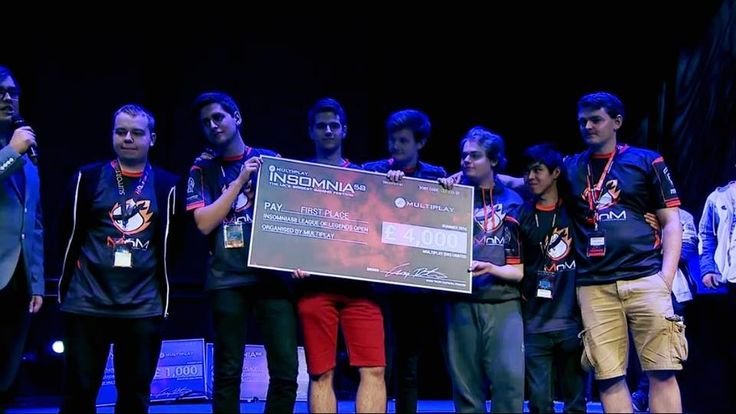 Congratulations to #TteSPORTS MnM Gaming on winning the league of legends grand final at #Insomnia58 🏆
