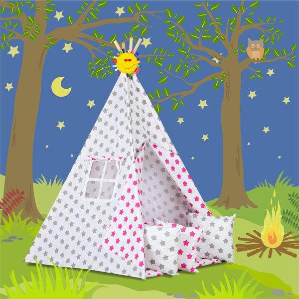 Wohnaccessoires - TIPI Zelt + Geschenke - ein Designerstück von Dream-zzz bei DaWanda