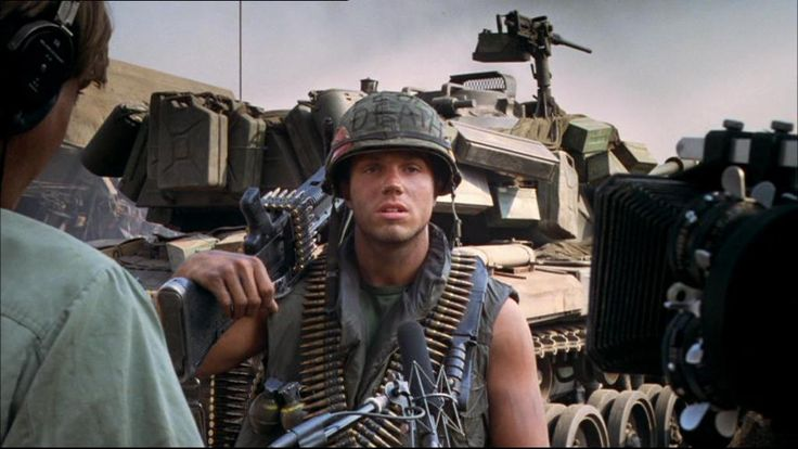"Adam Baldwin as ""Animal Mother"" in Full Metal Jacket (Kubrick)"