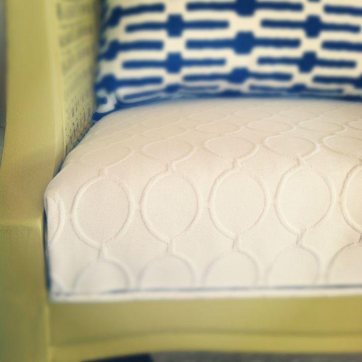 sarah m. dorsey designs: Cane Chair Peek