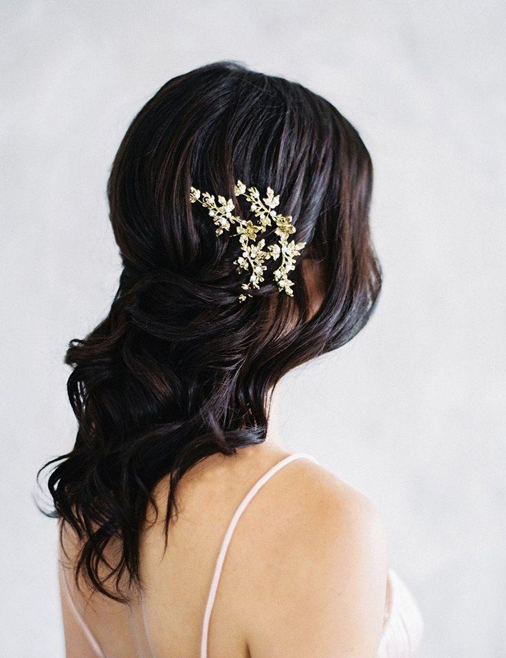 Maggie Wu Studio Bronze Bridal Headpiece