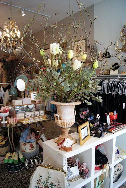 A pretty little vintage shop