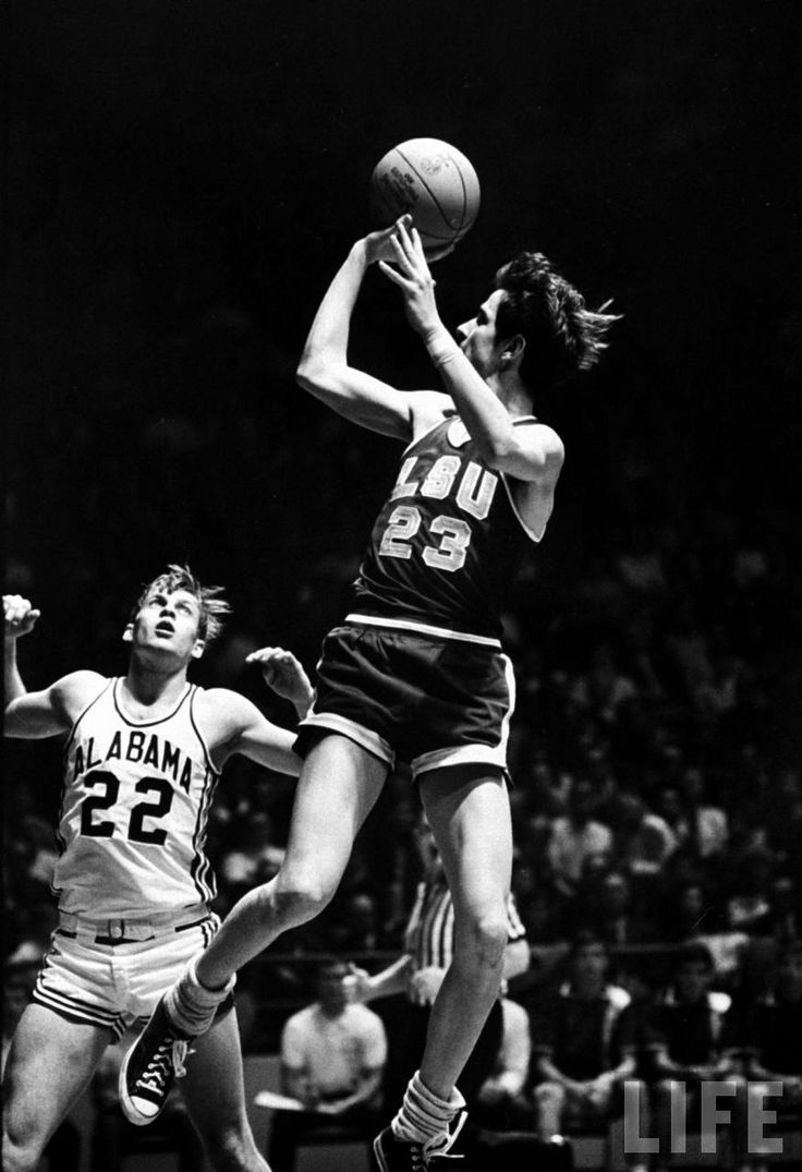 """Pistol"" Pete Maravich in Chucks -- I was lucky enough to see Pete play 3 times . d"