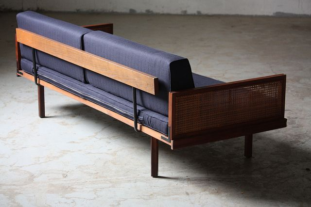 Wicked mid century modern daybed day bed sofa u s a 1960s flickr photo sharing design for Sofa bed kuala lumpur