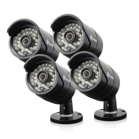 Swann SWPRO-A850 4 x 1 MegaPixel 720P Security Cameras with 30Mtr Night Vision