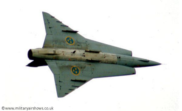 Image result for SAAB 35 Draken