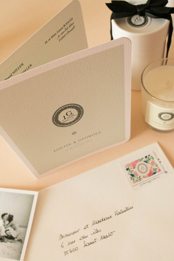 Wedding invitation Collection numero 13 by AtelierAnnelisePucci