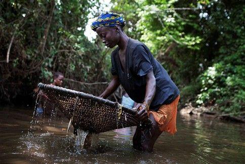 África está sobre uma vasta reserva de água