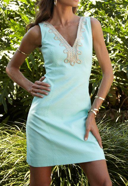 Lilly Pulitzer Bentley V-Neck Shift Dress