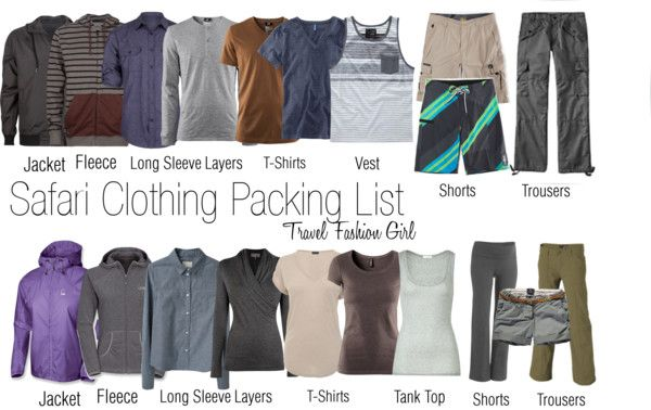 What to Pack for Safari Tours in Africa  via @travlfashngirl #travel #packinglist