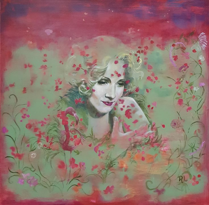#Going back to Wonderland#Do you suppose she's a wildflower#100x100#rithva.dk#Galleri Himmerland#