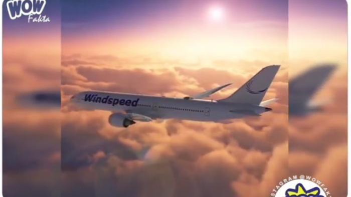 Kanopi Pesawat - Wow! Teknologi Ini Bantu Lihat Pemandangan Awan