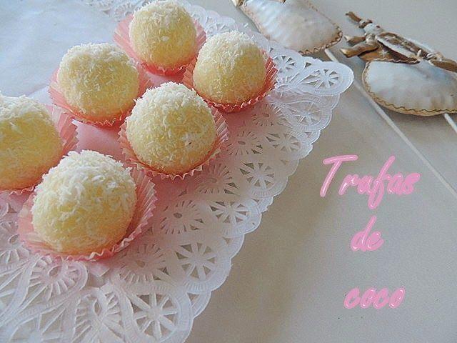 Deliciosas trufas de coco que no llevan nada de azúcar añadido. ¡Apunta la receta!