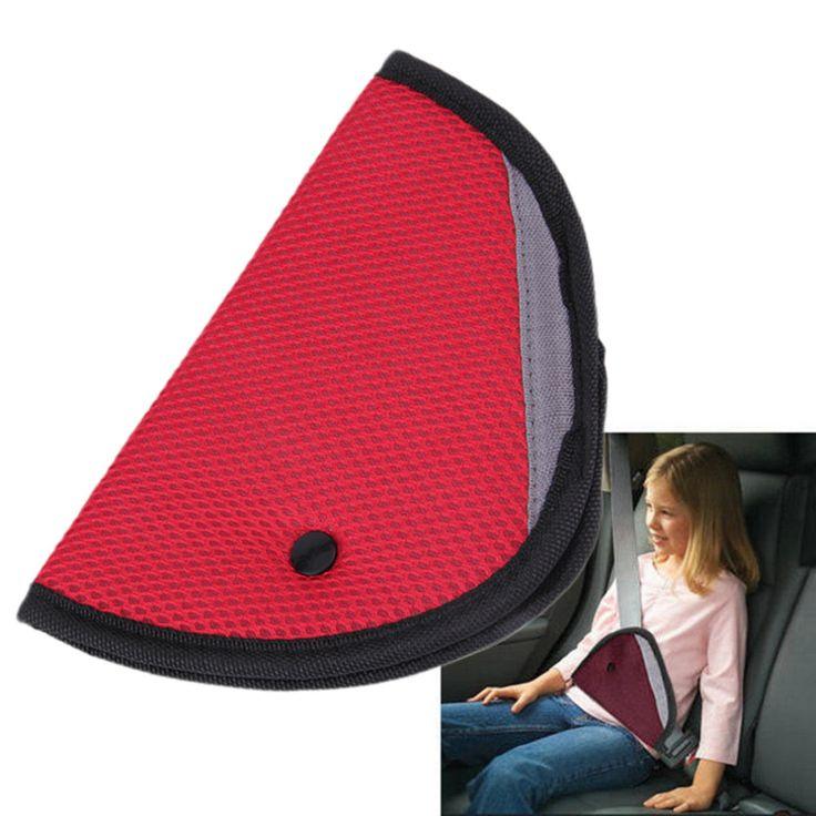Triángulo Niño Cinturón de Seguridad Del Coche cubierta del asiento Protector de Afeitado Titular A Prueba de Niños Bebé Ajustador Extensor de Cinturón de seguridad Del Coche almohadilla Del Coche