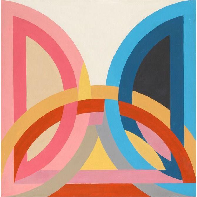 ill-mannered: Frank Stella