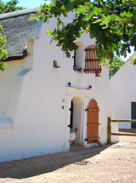 Babylonstoren is a designer hotel on a South African Cape Winelands farm