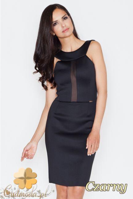 Ołówkowa sukienka wieczorowa mini marki FIGL.  #cudmoda #moda #ubrania #odzież #clothes #sukienki