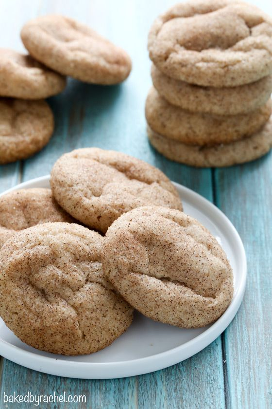Egg free snickerdoodle cookie recipe from @bakedbyrachel