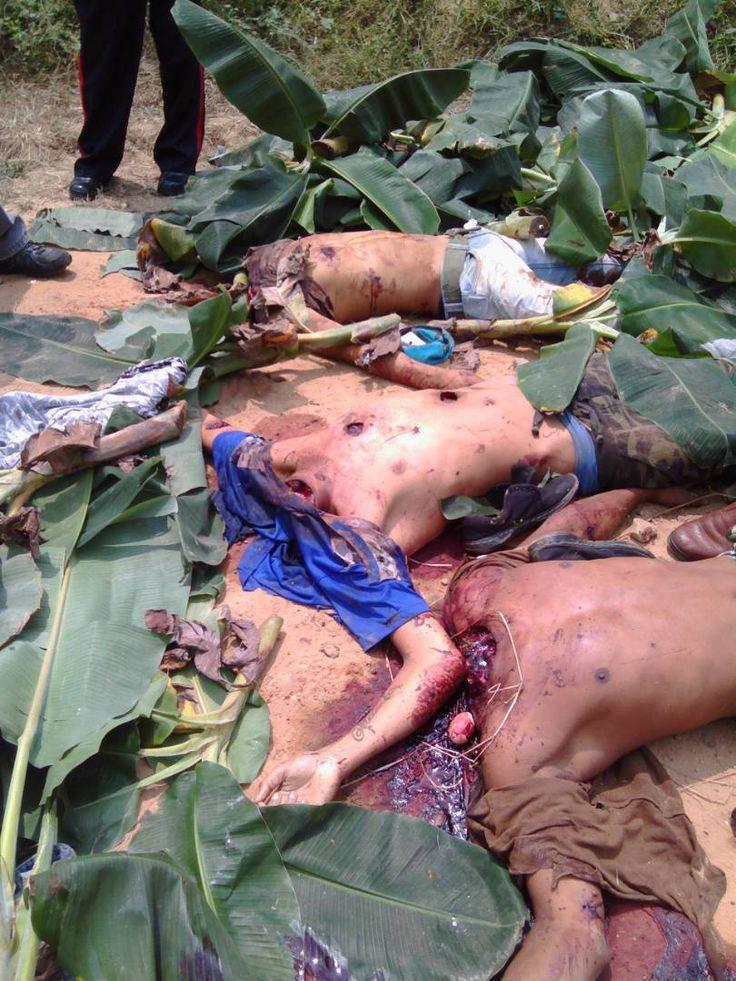 """Banda """"El Cagón"""" decapitó a tres hombres en Baralt (Imágenes fuertes )"""