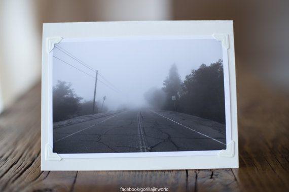 """Photo Card """"Fog"""" by Gorillajin"""