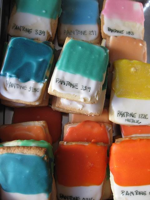 Pantone cookies!