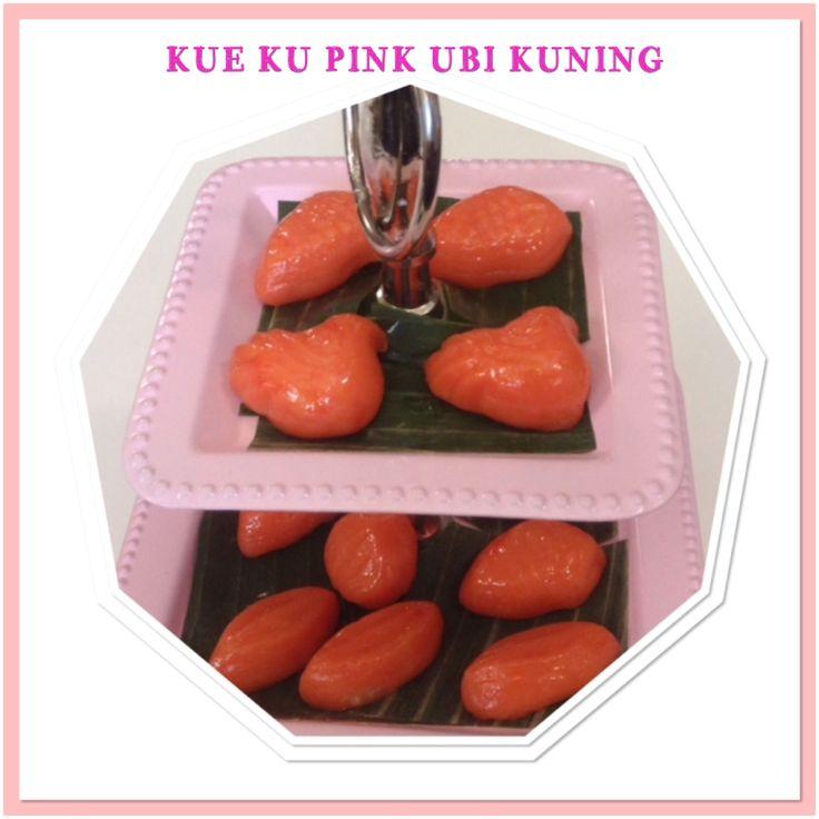 KUE KU PINK UBI KUNING