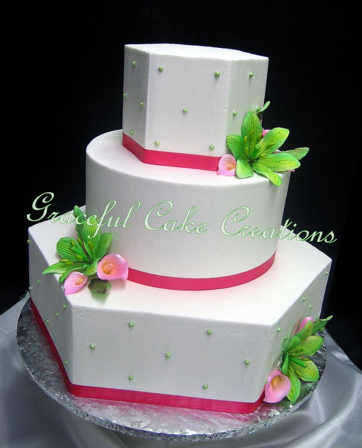 Lime Green Birthday Cakes