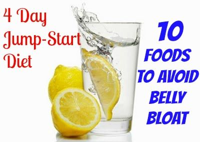 4 Day Jump-Start Diet and Sassy Water recipe. A great way to start the new year!
